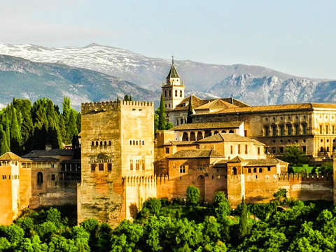 Guided Tour of the Alhambra, Generalife and Nasrid Palaces