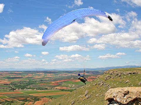 Paragliding - Flight Experience 60 '