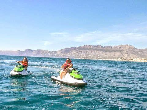 Salida en Moto de Agua de 1/2h desde Alicante (Precio/Moto)