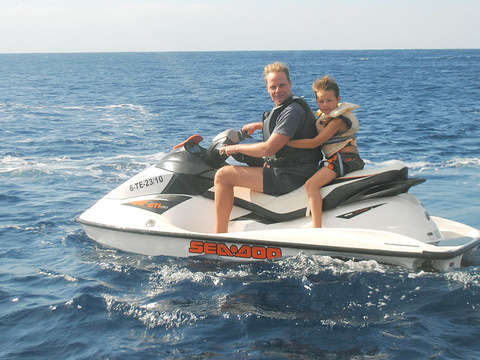 Departure in Water Bike 1h from Alicante (Price / Moto)