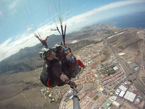 Two-seater flight in Adeje (Tenerife)