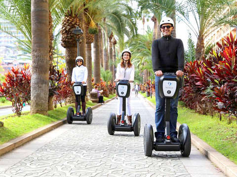 Puerto de la Cruz Segway 2 Hours. Morning Tour