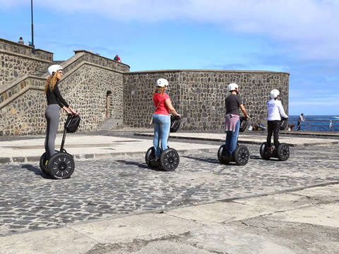 Essential Segway Puerto de la Cruz 1 Hour. Morning Tour