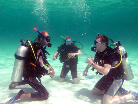 Discover Scuba Diving Christening