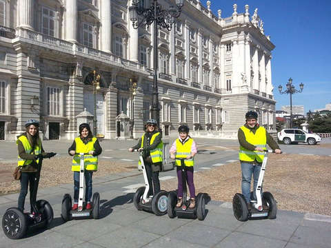 Madrid on Segway