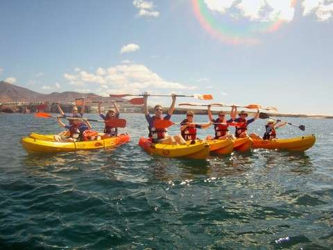 Kayak and Snorkel in Playa Blanca