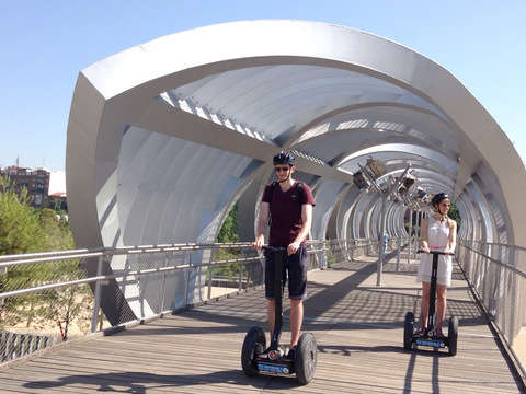 Tour the Madrid River Park on Segway