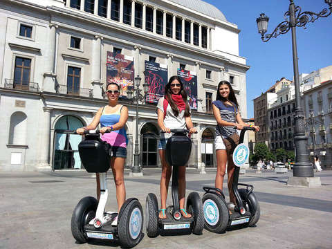 Discover Madrid - 3 Hours on Segway