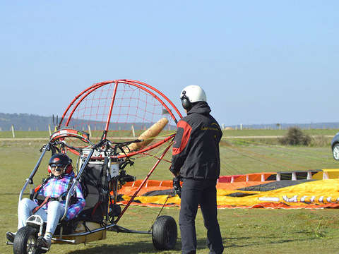 Fly in Paramotor in Zamora