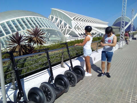 Valencia Art and Sciences (2 Hours on Segway)